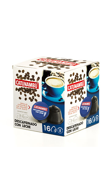Cápsuls Descafeinado con leche 16 uds.
