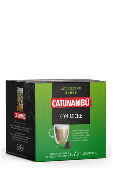 Cápsulas Café con leche 16 uds.